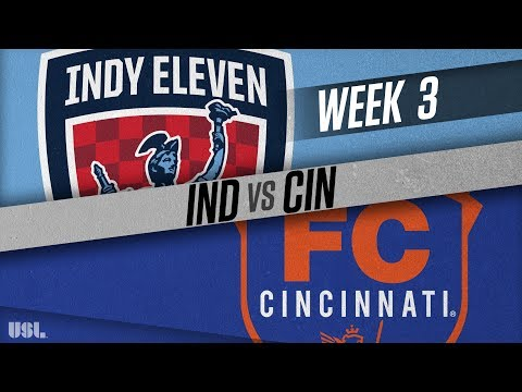 Indy Eleven vs FC Cincinnati: March 31, 2018