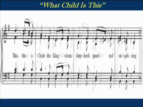 What Child Is This Alto Score