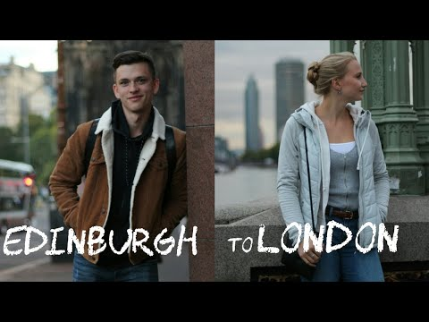 EDINBURGH to LONDON Travel Vlog / Everything went Wrong...
