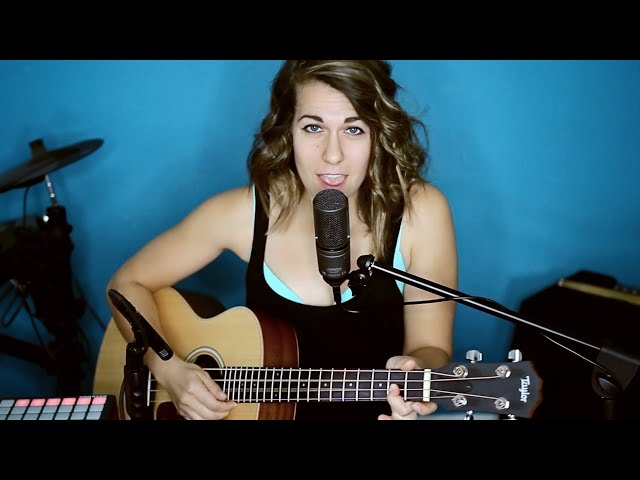 Pray for Me - The Weeknd & Kendrick Lamar | One-Gal Band | Ali Spagnola Cover