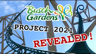 What the heck is Busch Gardens Williamsburg building! GIGA LAUNCH COASTER!
