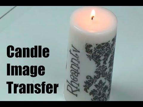 Candle Image Transfer