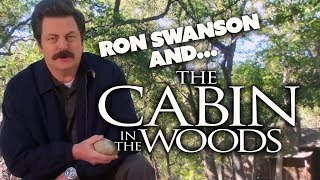 RON SWANSON and...The Cabin In The Woods   Parks and Recreation   Comedy Bites