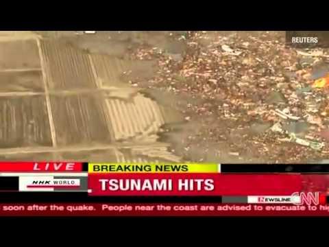 Động đất kinh hoàng kèm theo sóng thần tại Nhật Bản 11-3-2011