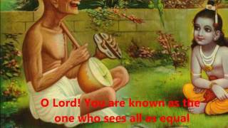 Prabhuji More Avgun with lyrics/translation