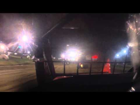 Andy Feil's Sprint Car Flip at Mercer Raceway Park 9/6/14
