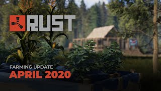 Our april 2020 patch is now live: https://rust.facepunch.com/blog/farming-updaterust on steam: https://store.steampowered.com/app/252490/rust/rust merchandis...