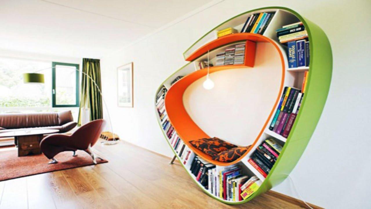 18 immensely creative bookshelf designs youtube