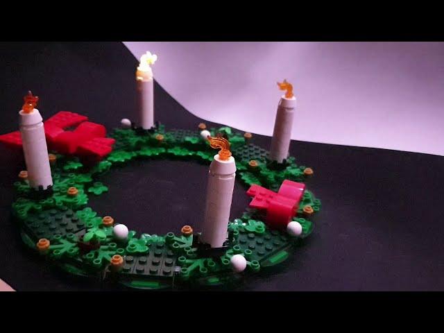 Adventskranz-Beleuchtung