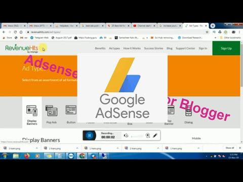 Adsense Alternatives For Blogger(RevenueHits) Part 4