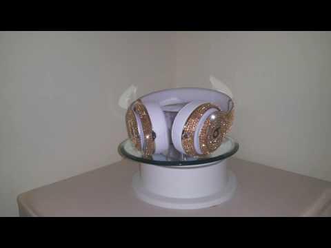 Golden Shadow Swarovski Crystal Bling Beats by Dre