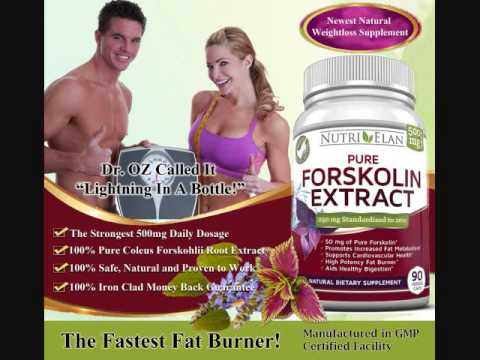 Forskolin dietary supplement dr oz