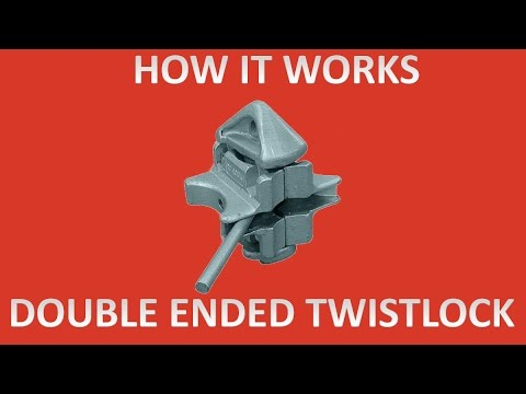 How Double Ended Twist Locks for Shipping Containers Work