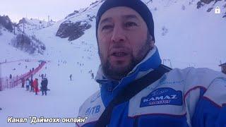 видео Терскол - горнолыжный курорт (Кабардино-Балкария)
