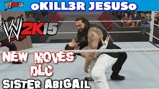 WWE 2K15 New Moves Pack DLC - Bray Wyatt Sister Abigail 3 I PS4 / XBOX ONE