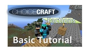 Choicecraft Factions Spawn tour!  Portals, Pig mall, and Puzzles!