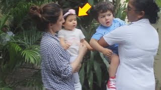 Taimur Ali Khan And Inaya Khemu  | Kareena Kapoor Son With Soha Ali Khan Daughter
