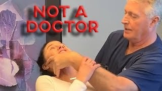 The CREEPIEST Chiropractor on YouTube