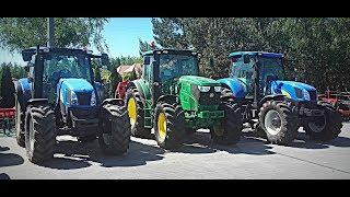 Oglądamy Używane Ciągniki ! Vlog#111 John Deere,Case,New Holland ! Odwiedziny Dealera Maszrol :D