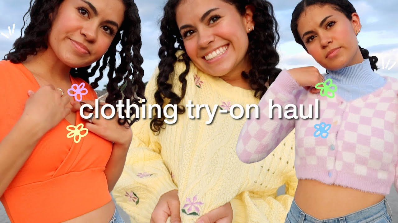 A lil summer try-on clothing haul *super cute!!!*