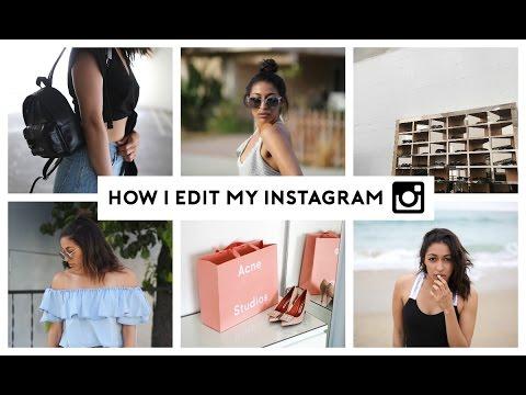 How To Edit Instagram Photos! 📷 Tips & Tricks