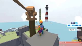 [Hindi]Human Fall Flat #4 NEW HARD LEVEL | TO MUCH FUNNY EVER GAME | SUBSCRIBE ND JOIN  ME