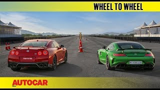 Drag Race: Nissan GT-R vs Mercedes-AMG GT R | Autocar India