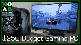 $250 Budget Gaming PC - Deal Hunting Like a True NOAB (RX 460 + G4400 /w Benchmarks)