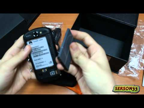 Unboxing Huawei U8800 (IDEOS X5)