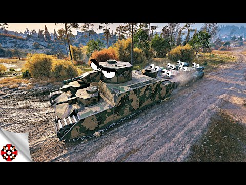 World Of Tanks - Funny Moments | WINS Vs FAILS! (WoT Fails, April 2019)