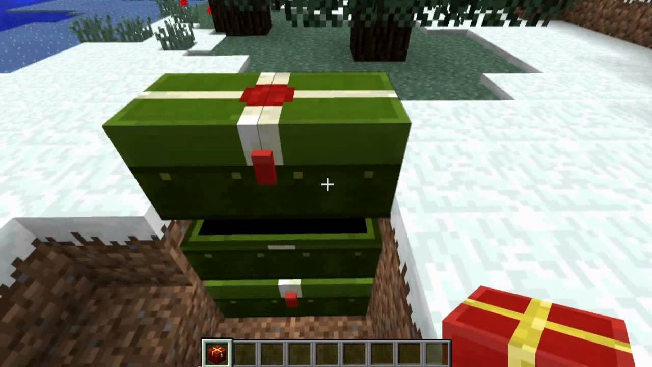 Minecraft: Christmas Chest textures (December 25 files) - YouTube