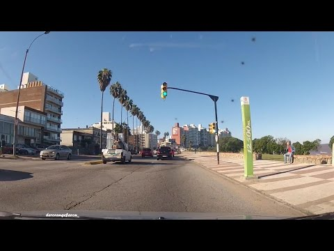 Driving through Uruguay - Montevideo and surroundings by car