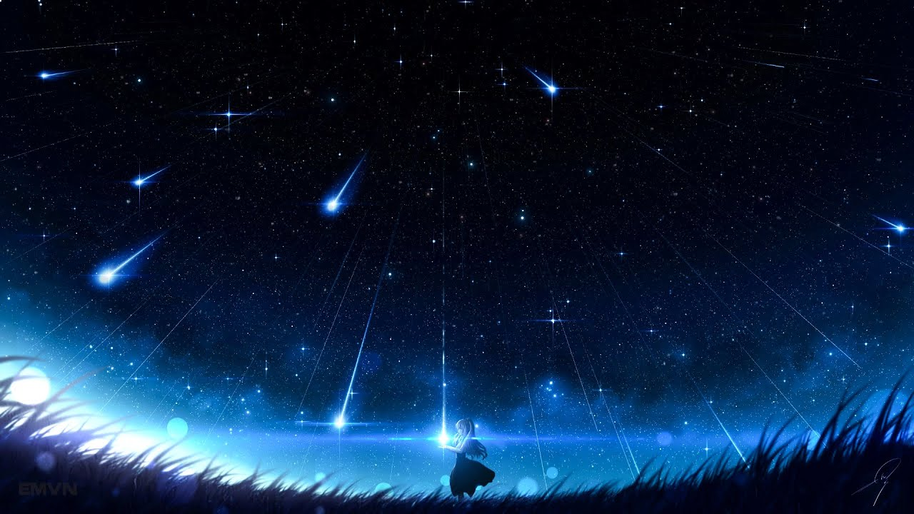 SHOOTING STARS   Beautiful Piano Music for Relaxing, Studying and Sleeping