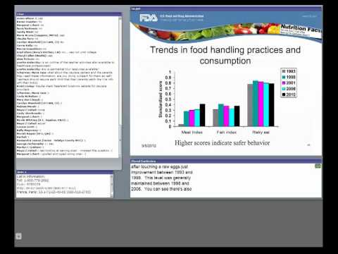 CFSAN/JIFSAN Food and Nutrition Webinar - Consumer Research at the FDA
