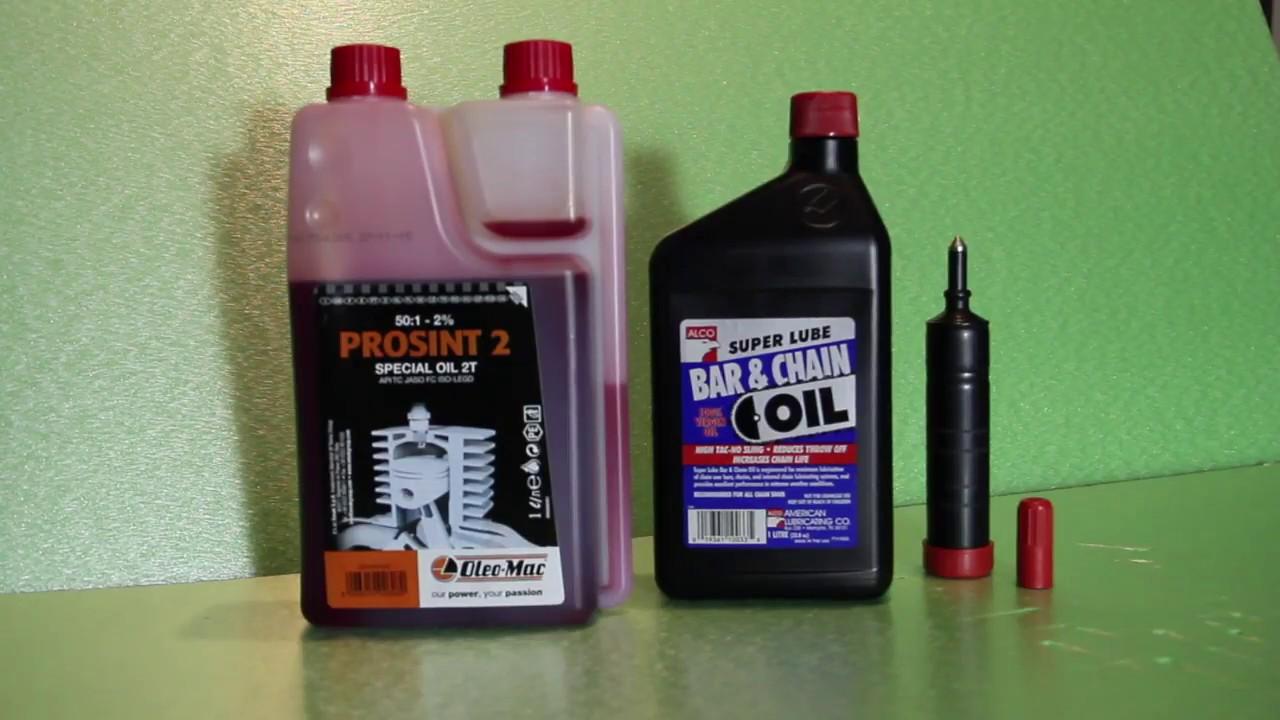 2T olaj láncfűrészhez