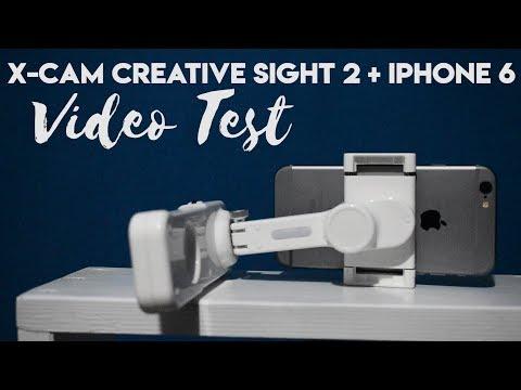 HASILNYA GAK KALAH SAMA DSLR : Gimbal Stabilizer X-Cam Creative Sight 2 + iPhone 6 Shoot Video Test