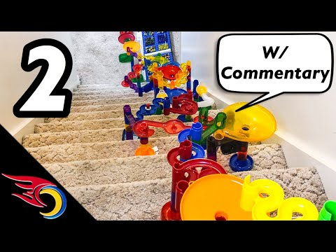 Marble Race: M&H x Toy Racing Summer Games 2019 Event 2: 2 Story Marble Run Race