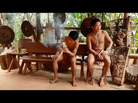 Batak Tribe presentation. Puerto Princesa, Palawan island, Philippines