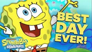 Download SpongeBob's Best Day EVER 🎉 in 5 Minutes! | #SpongeBobSaturdays