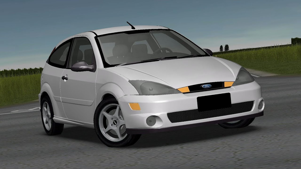 2002 Ford Focus Svt >> Ford Focus SVT 2002 drive (Links) - Racer: free game - YouTube