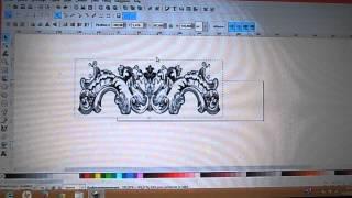 convertir JPEG en G-code avec inkscape pour Mach3 CNC