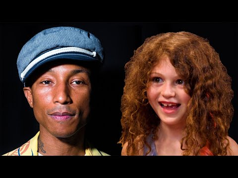 Watch Pharrell Williams Get Interviewed by a 7-Year-Old Girl
