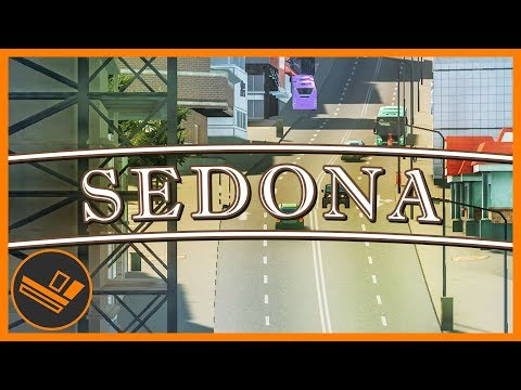 Sedona - Part 87 | NEW MAIN ROAD! (Cities: Skylines)