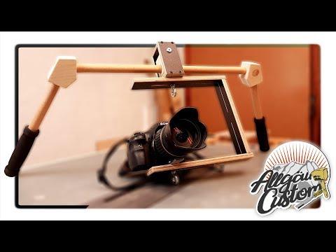 #01  Steadycam/Gimbal für DSLR/Smartphone selber bauen | DIY Steadycam for DSLR/Smartphone Tutorial