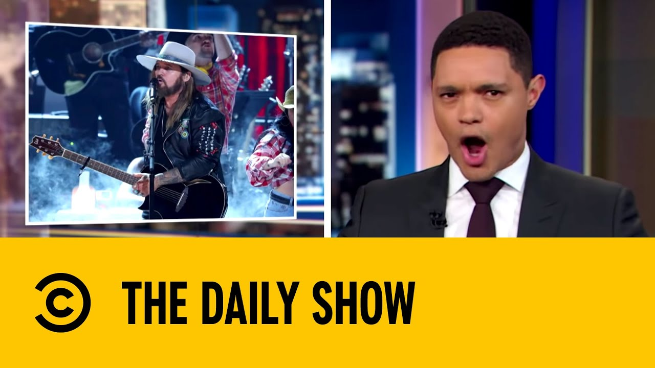 Billy Ray Cyrus' Standing Ovation At BET Awards | The Daily Show with Trevor Noah