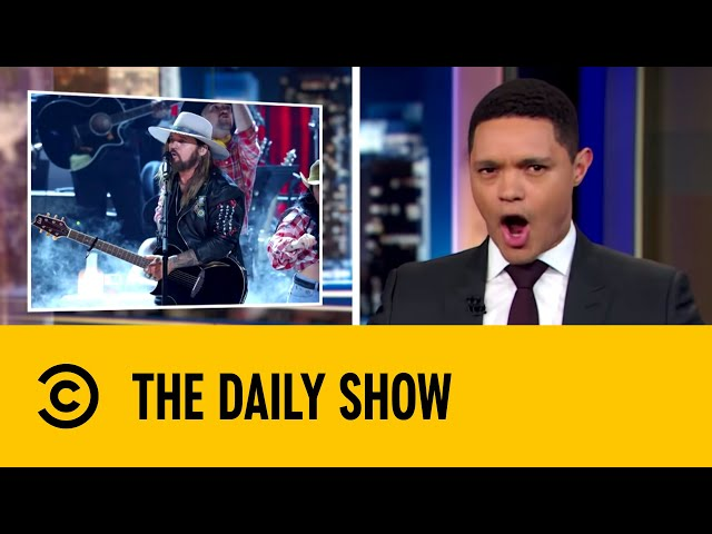 Billy Ray Cyrus' Standing Ovation At BET Awards   The Daily Show with Trevor Noah