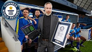 Longest Game of Football Manager - Guinness World Records