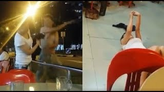 Police called in after bizarre fight in Singapore
