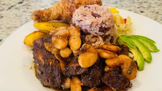 Pork &amp beansrice &amp peas recipe #shorts #shortsfired