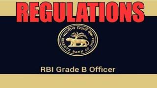 competitive exam preparation rbi regulations for rbi grade b exam